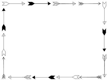 clip freeuse library Arrow border clipart. Aztec borders and backgrounds