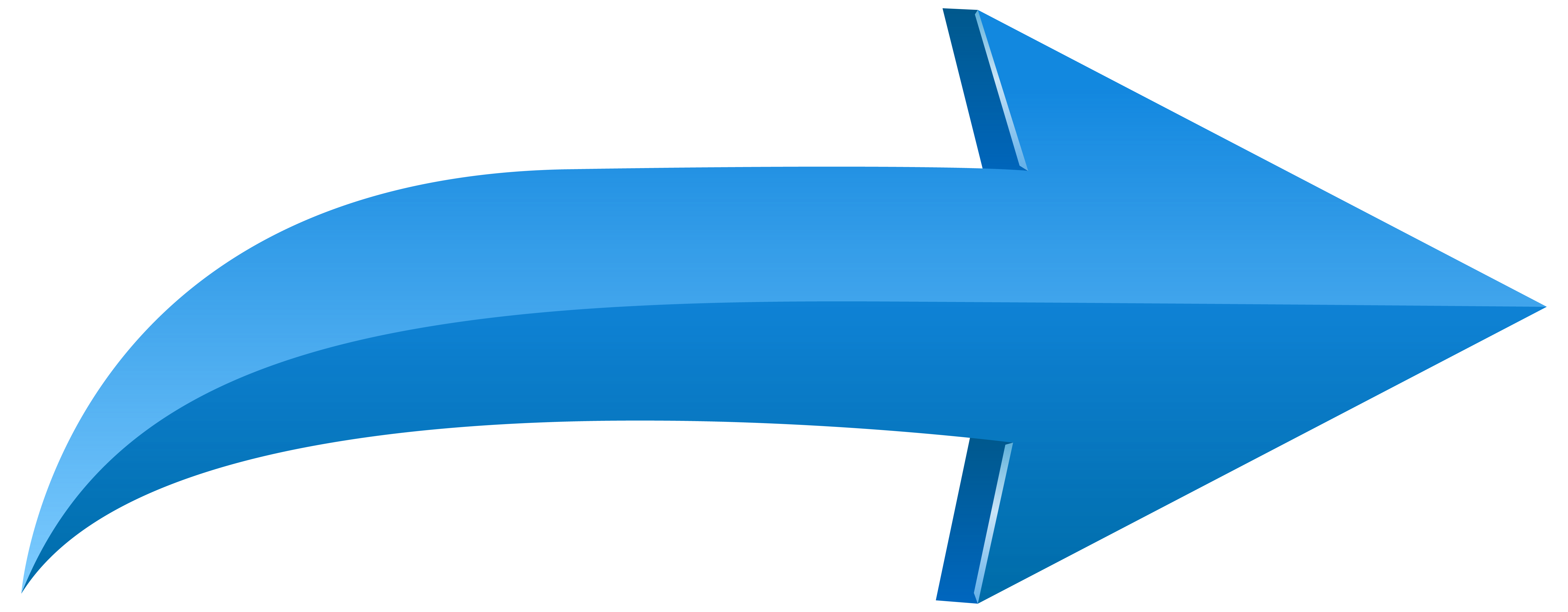 free Left blue png transparent. Arrow clipart