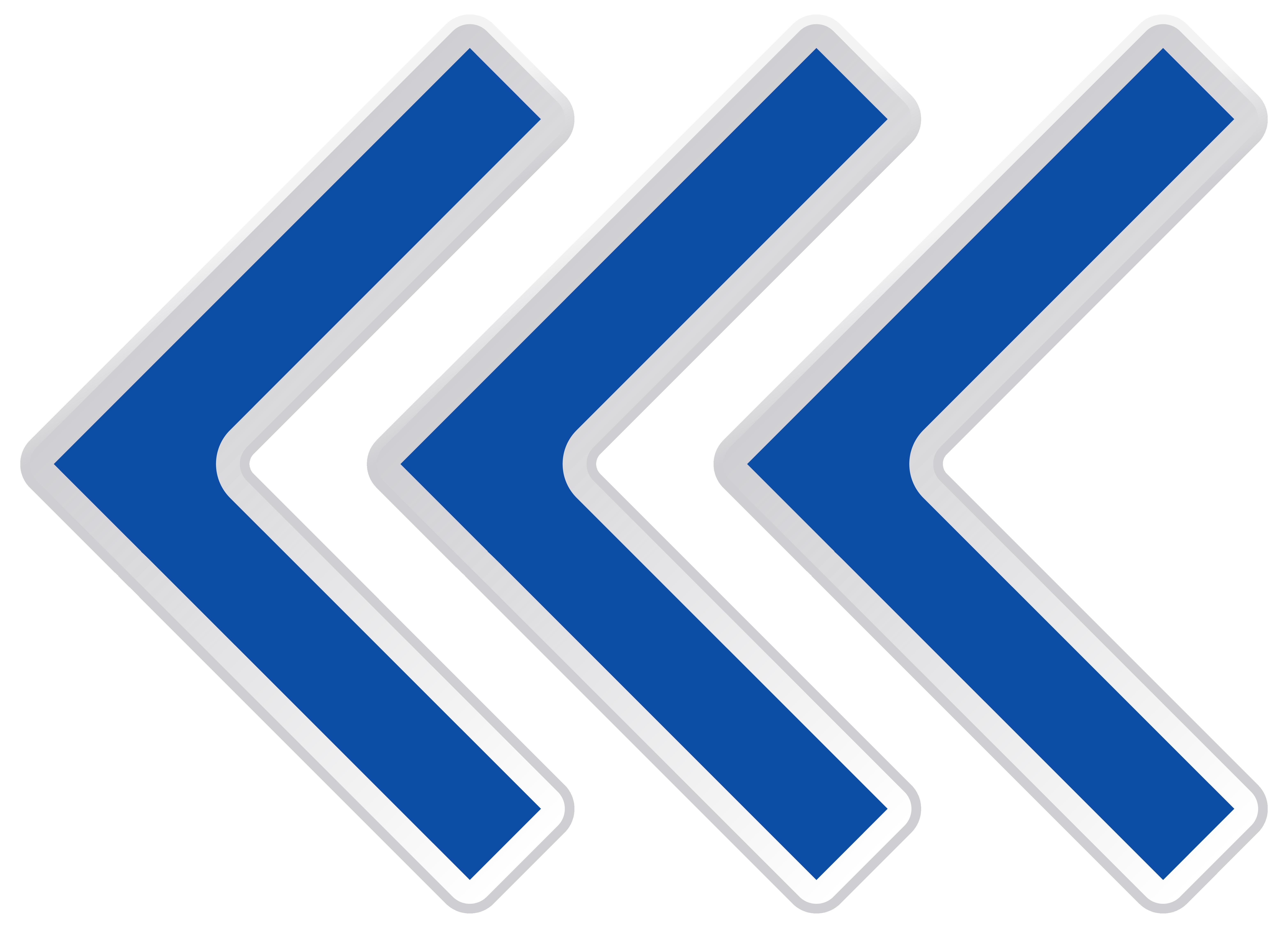 graphic download Clipart arrows. Blue left arrow png