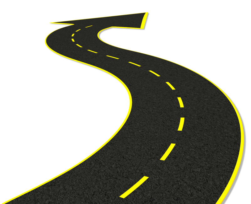 clipart transparent library Arrow clipart road. Street transparent free on.
