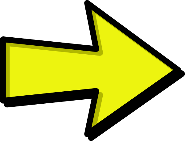 vector free Arrow clipart. Yellow clip art at