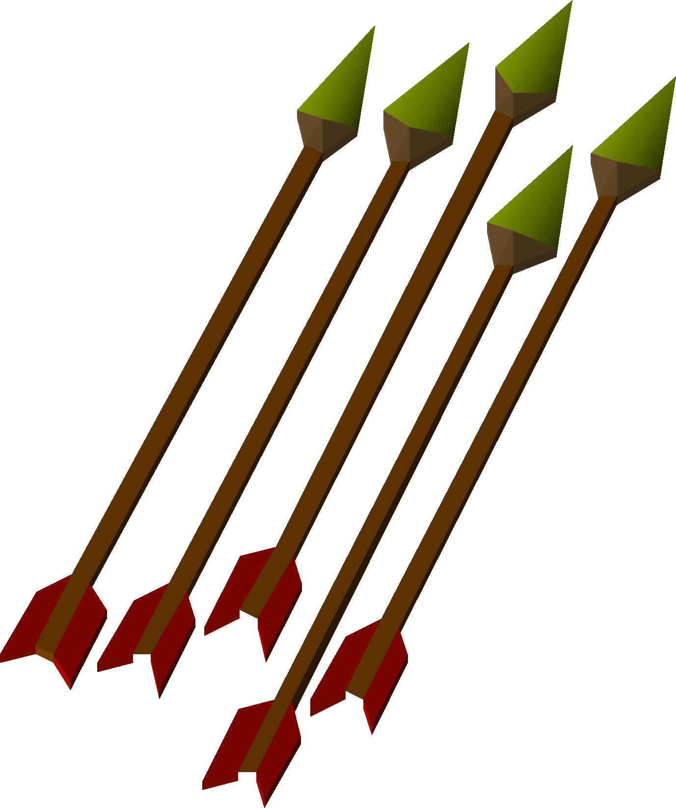 graphic royalty free stock Arrow feather clipart. Bronze old school runescape