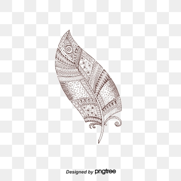 jpg black and white library Arrow feather clipart. Png images vector and