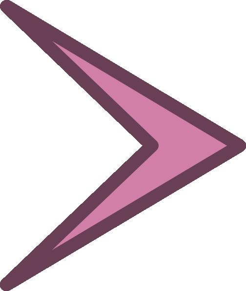 vector free Small right arrowhead clip. Arrow head clipart.