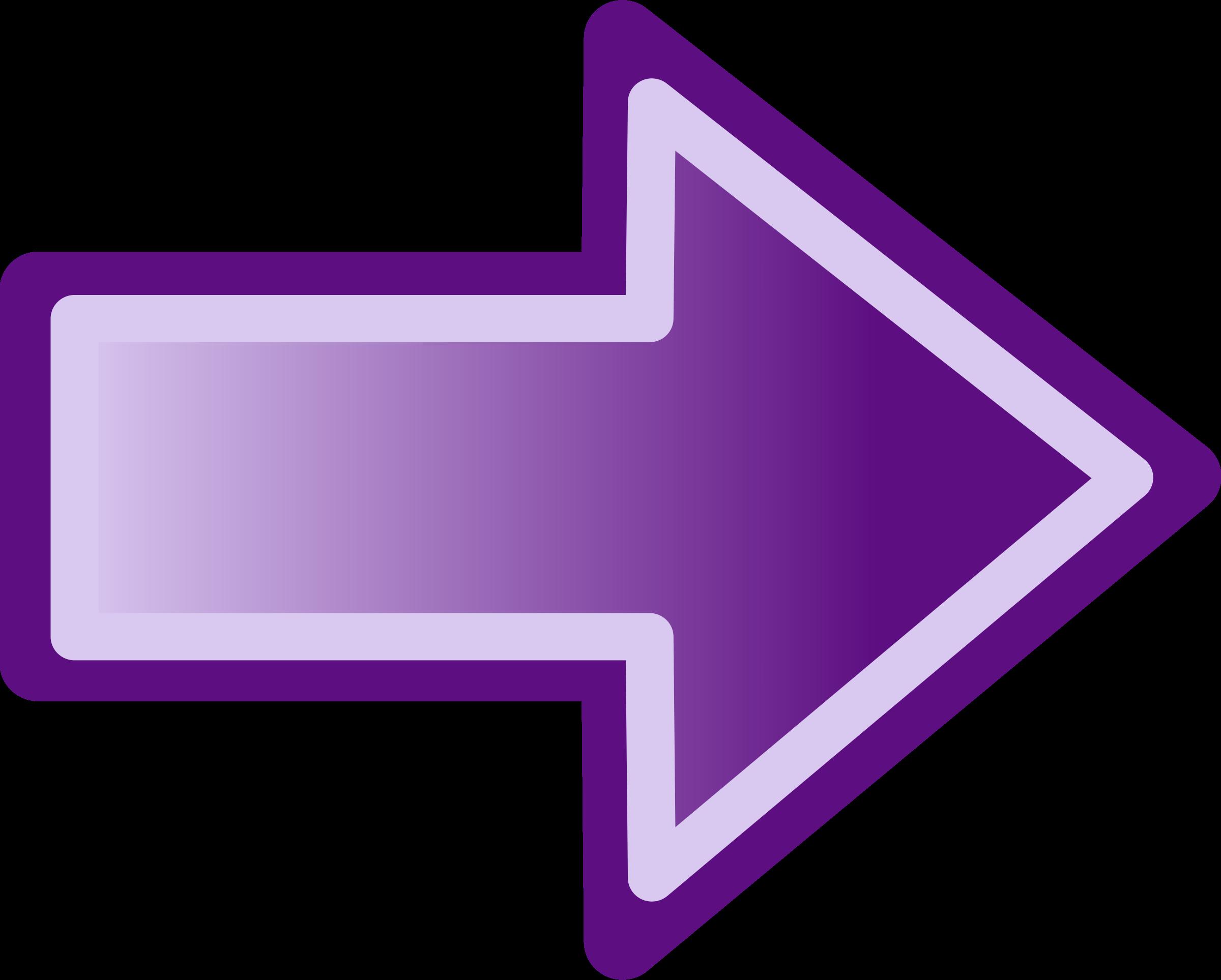 image free Arrow sign clipart. Purple shape big image.