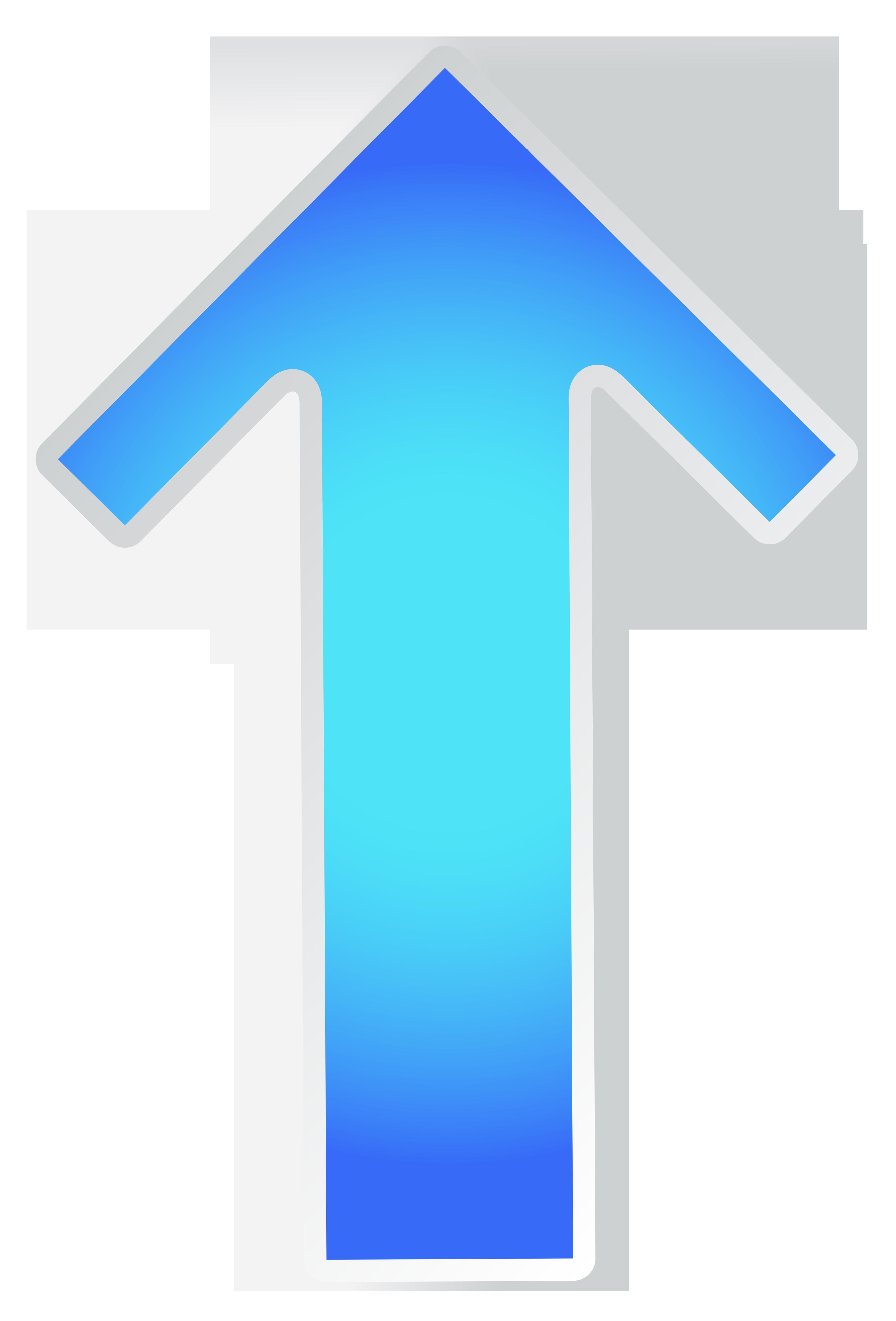 vector download Blue transparent png clip. Arrow up clipart