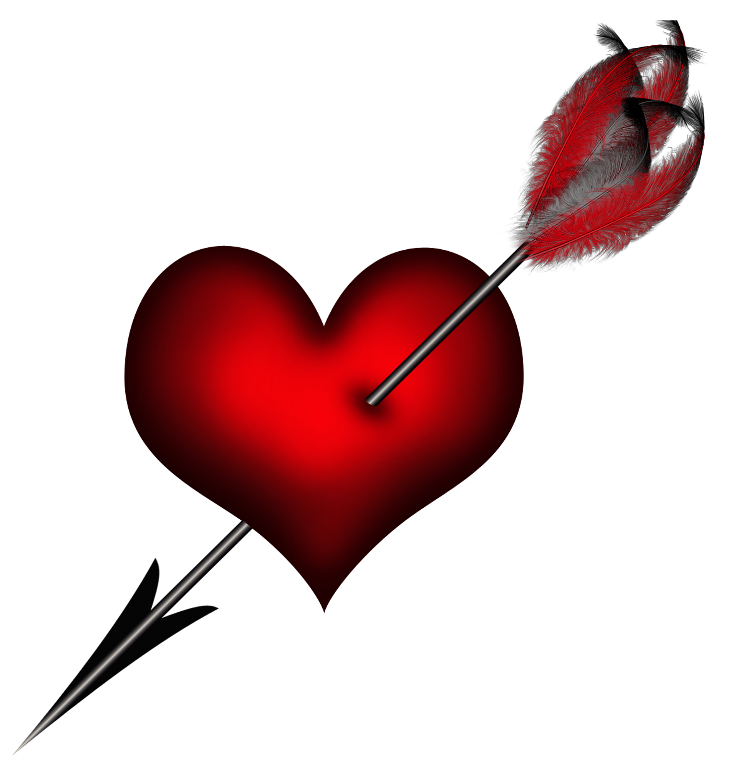 jpg transparent Transparent picture gallery yopriceville. Arrow with heart clipart
