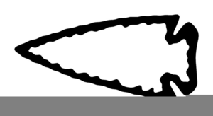 banner black and white stock Arrowhead clipart. Indian free images at