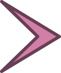 banner Arrowhead clipart. Small right clip art
