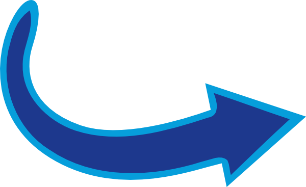 vector freeuse library Blue Arrow Right Clip Art at Clker