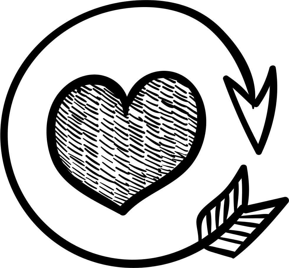 clip art transparent stock Heart With Round Arrow Svg Png Icon Free Download