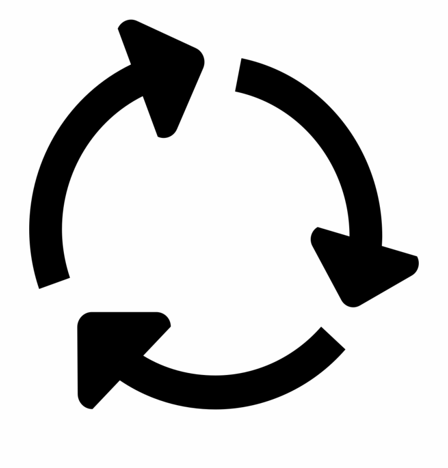 graphic library download Arrows in a circle clipart. Icon png arrow free.
