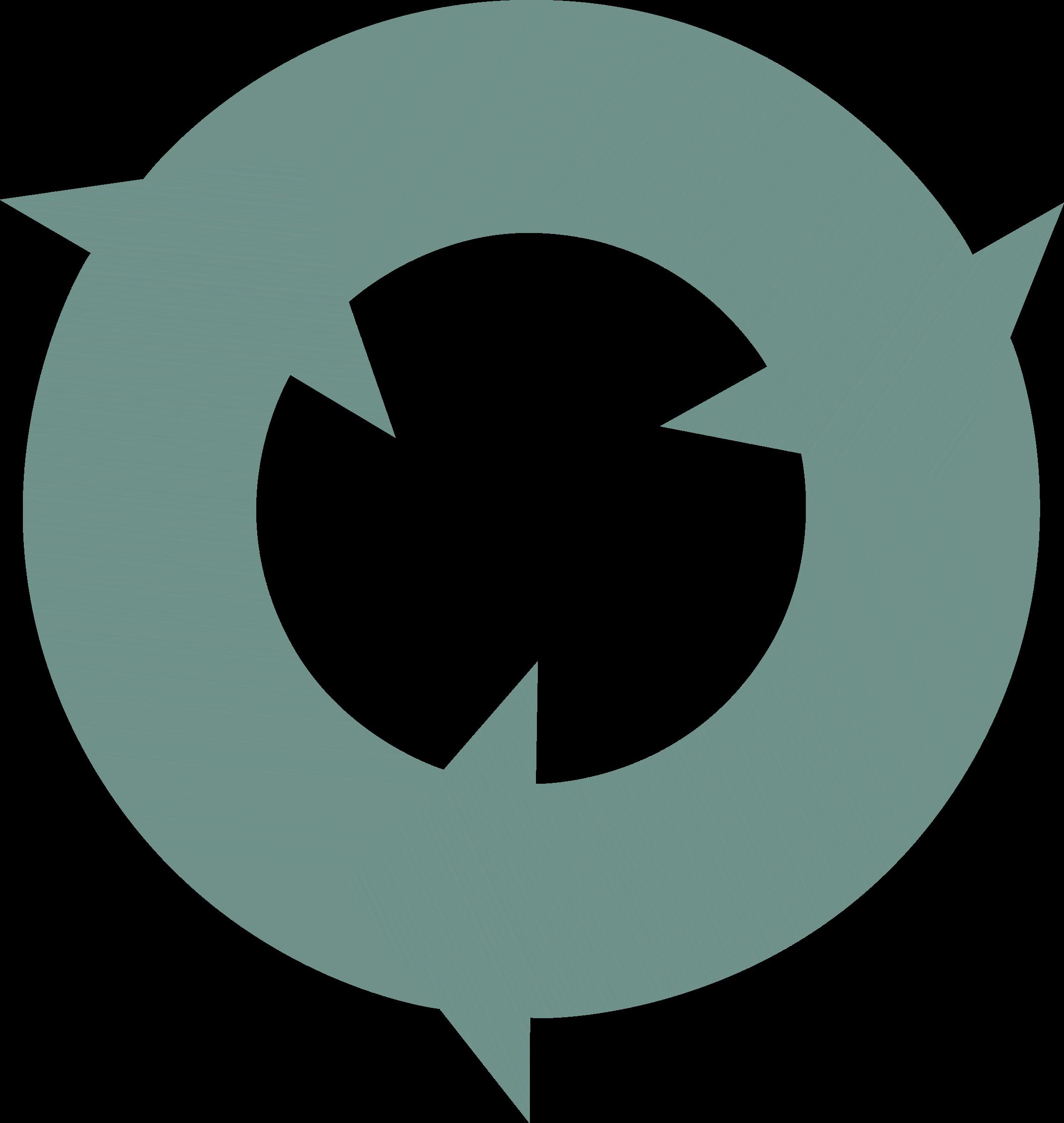 graphic library Arrows in a circle clipart. Three circular interlocking big.