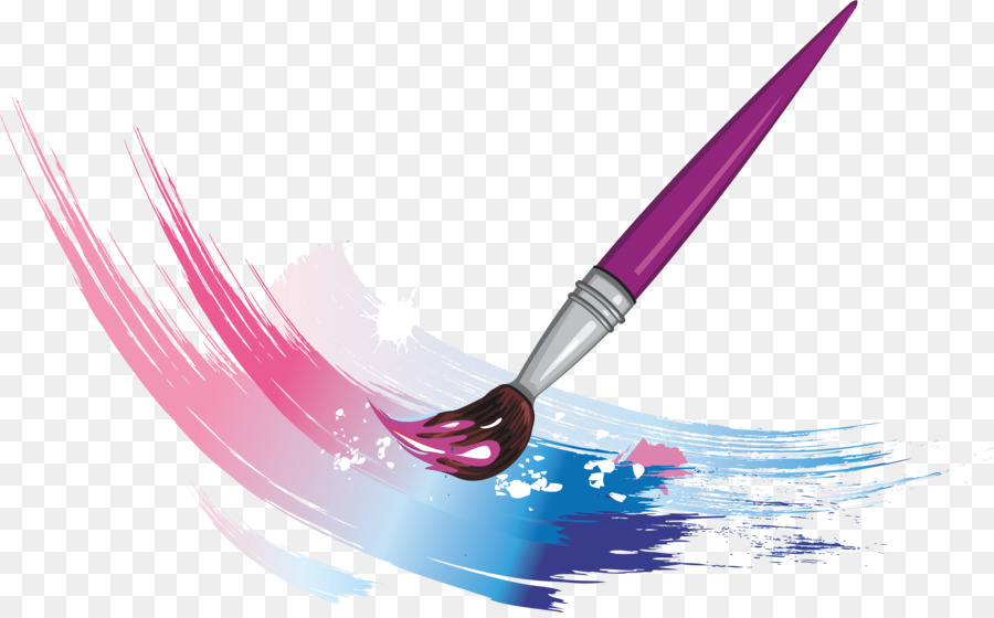 vector free download Art brush clipart. Paint cartoon .