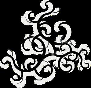 clip art black and white download free swirl clip art