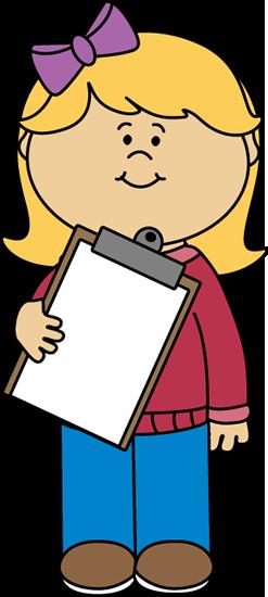 banner freeuse Teacher helper clip art. Clipboard clipart instruction.