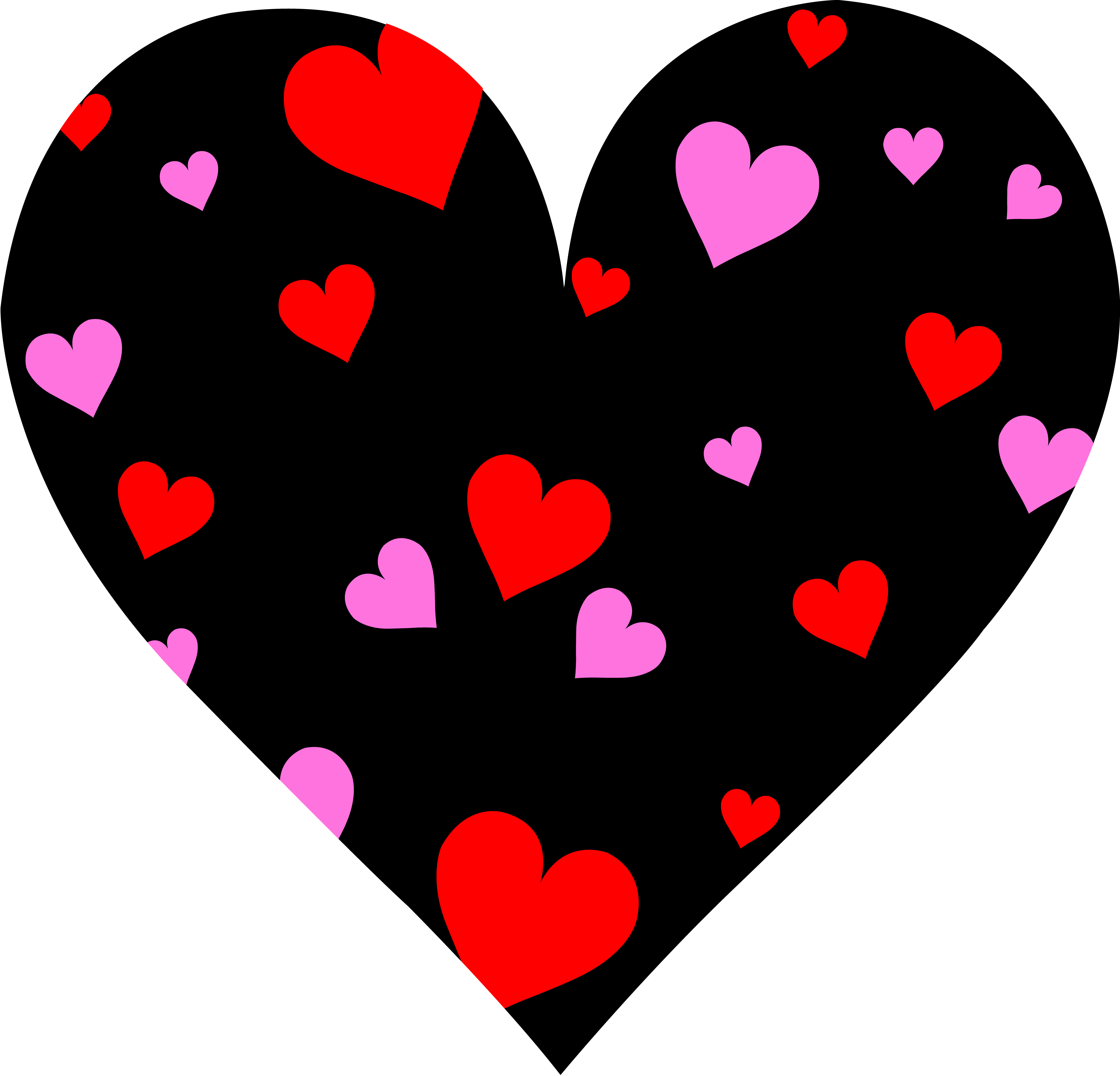 svg royalty free library Love heart panda free. Valentine clipart note