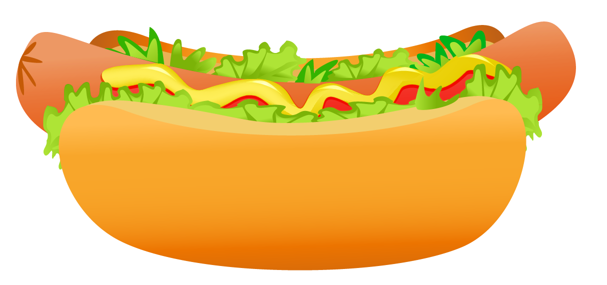 clip art library download Hot dog image gallery. Art clipart png