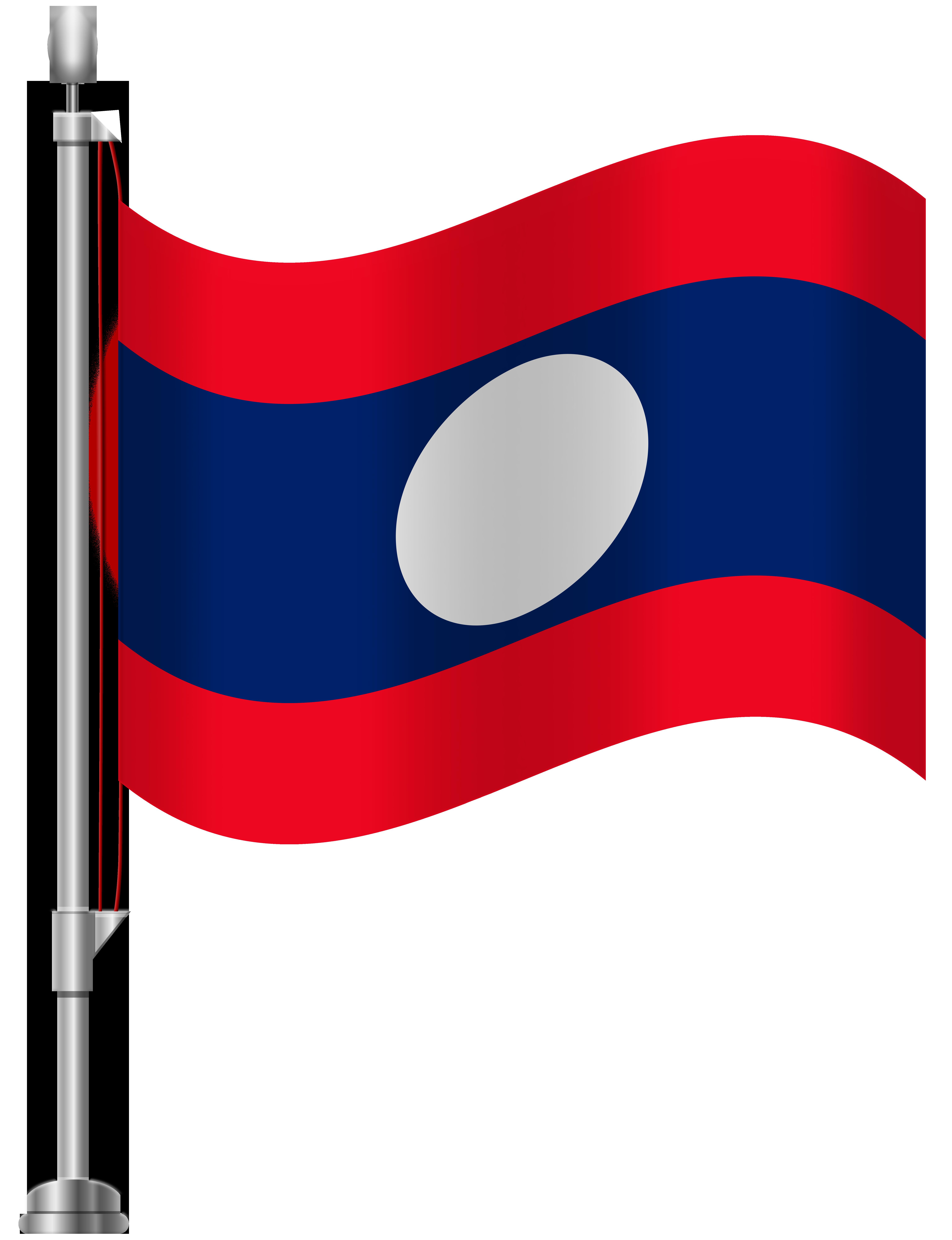 banner transparent Art clipart png. Laos flag clip best