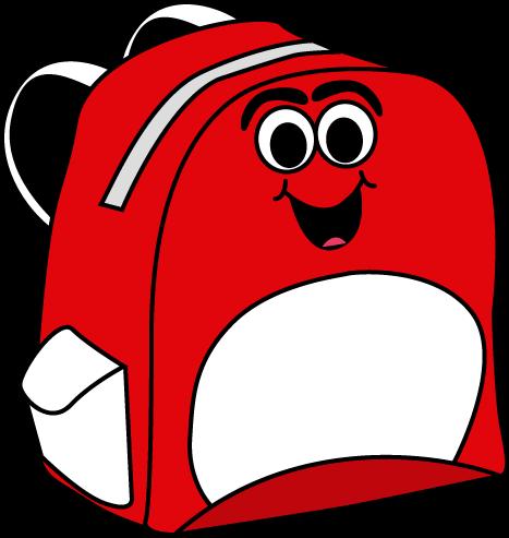 png free Bookbag clipart empty backpack. School supplies clip art