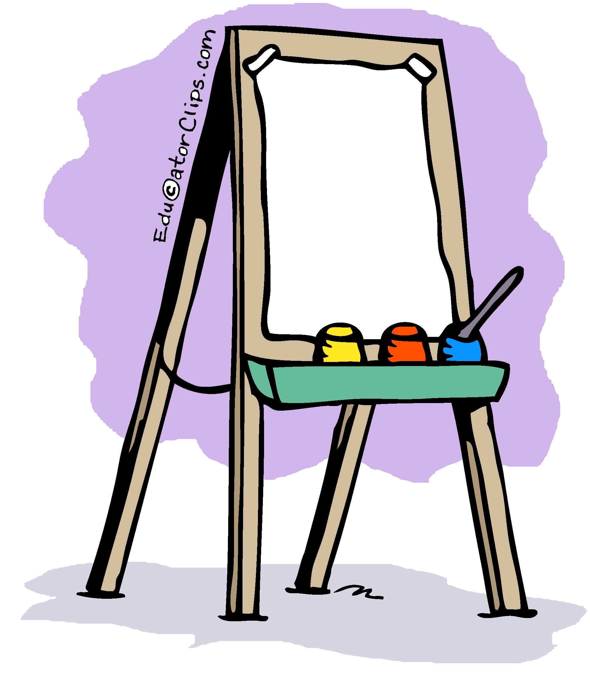 image library library Art easel clipart. Clip .