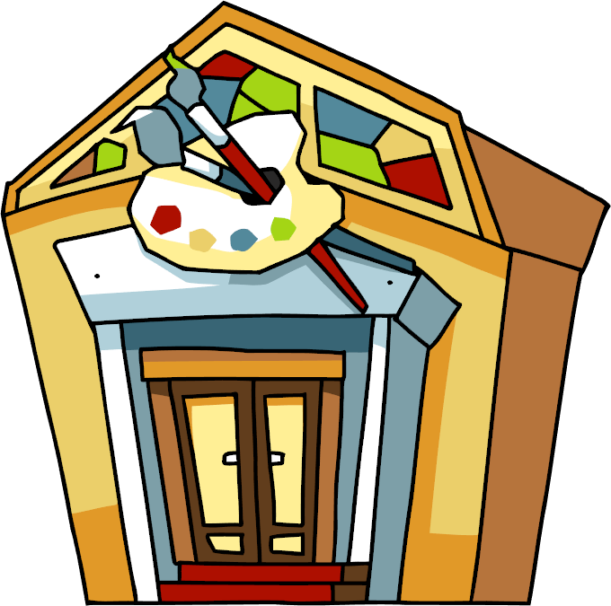 picture black and white download Scribblenauts wiki fandom powered. Art museum clipart