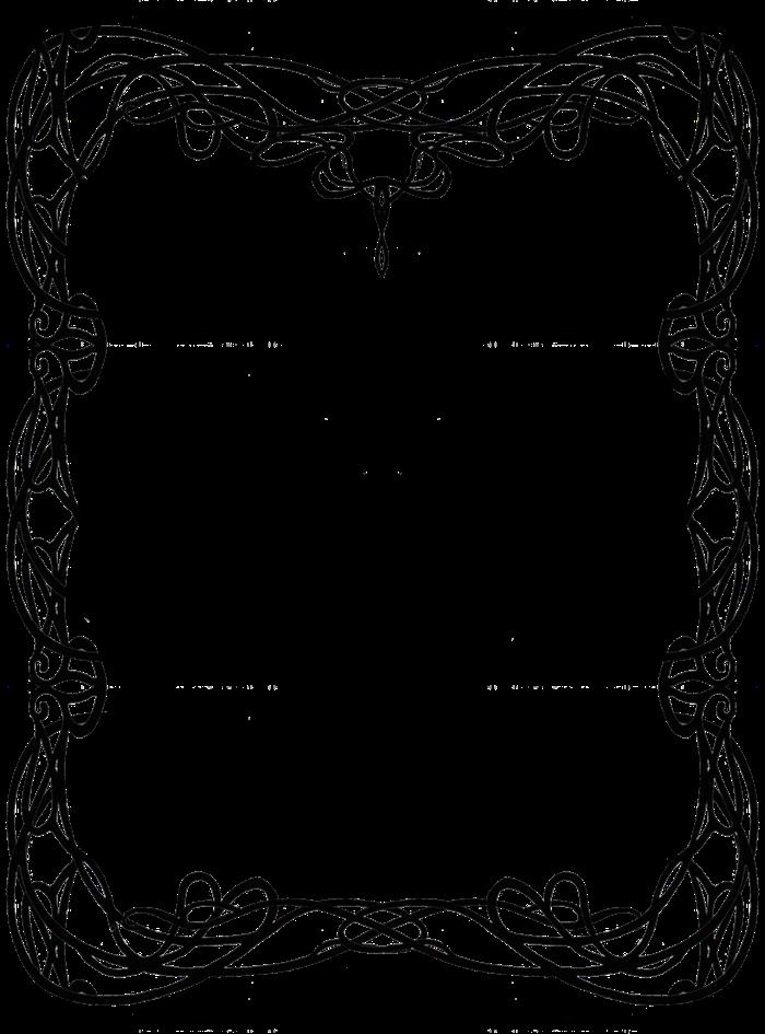 image royalty free download La influencia del en. Art nouveau clipart