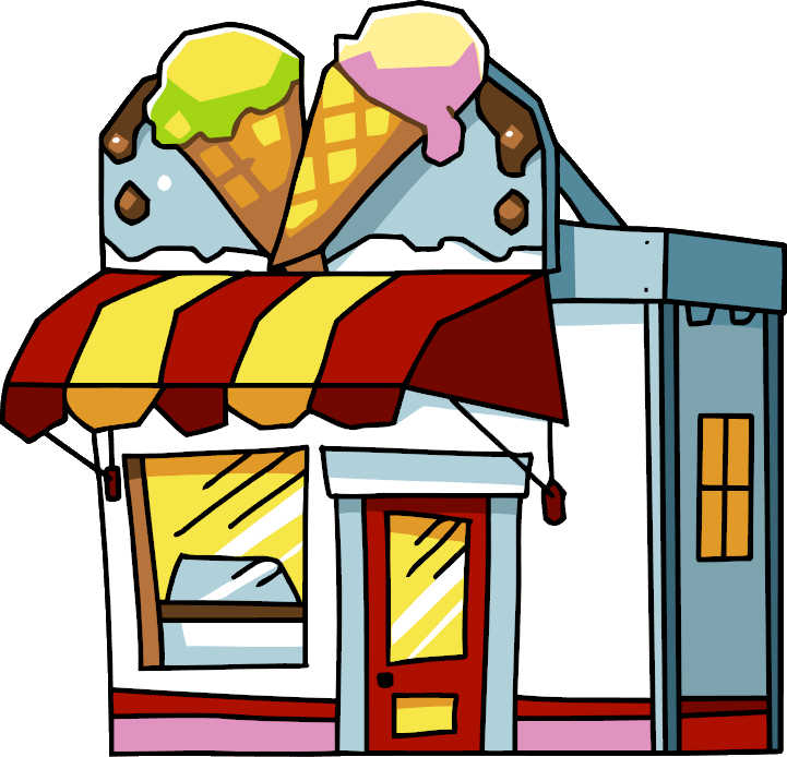 png free Clipart at getdrawings com. Drawing store ice cream shop