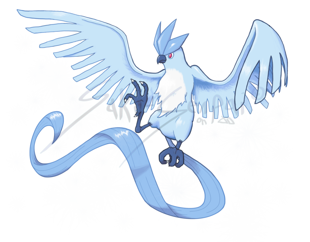 vector black and white library Shining articuno by saku. Transparent draw shine