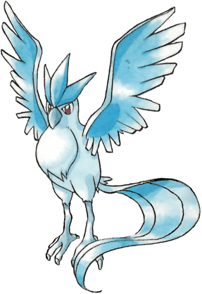 png Articuno from the official artwork set for