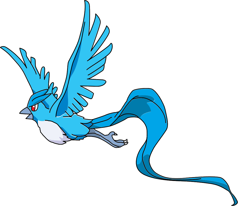 image black and white articuno drawing colored #89291825