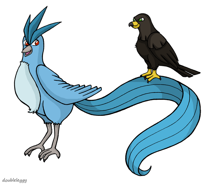 clipart royalty free stock Articuno and Orz by DoubleLeggy on DeviantArt