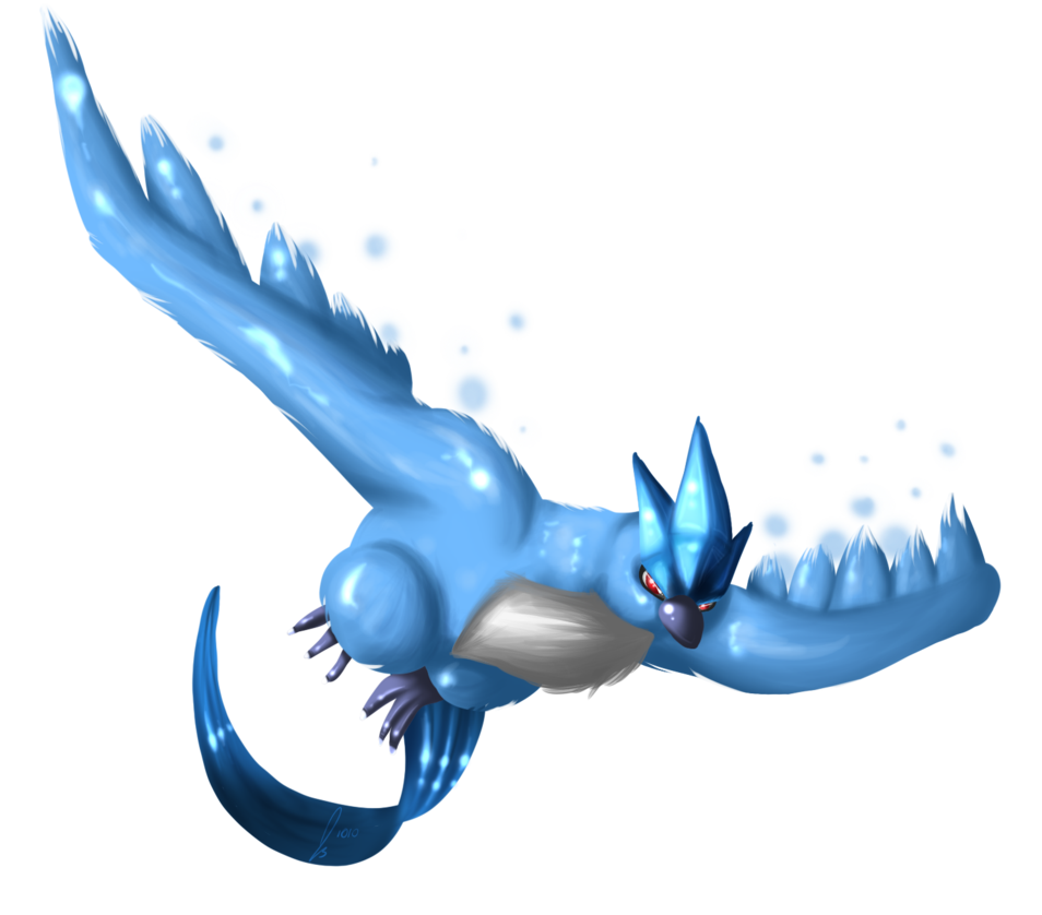 image royalty free library The Legendary Bird Articuno by jaclynonacloud on DeviantArt