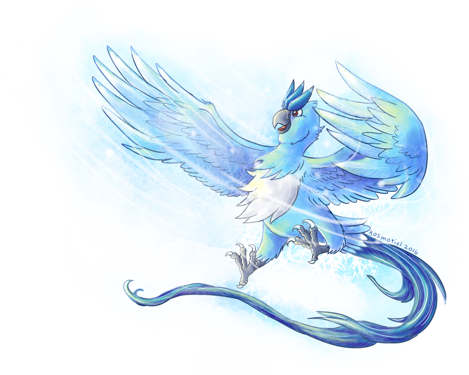 jpg black and white download Articuno used Blizzard