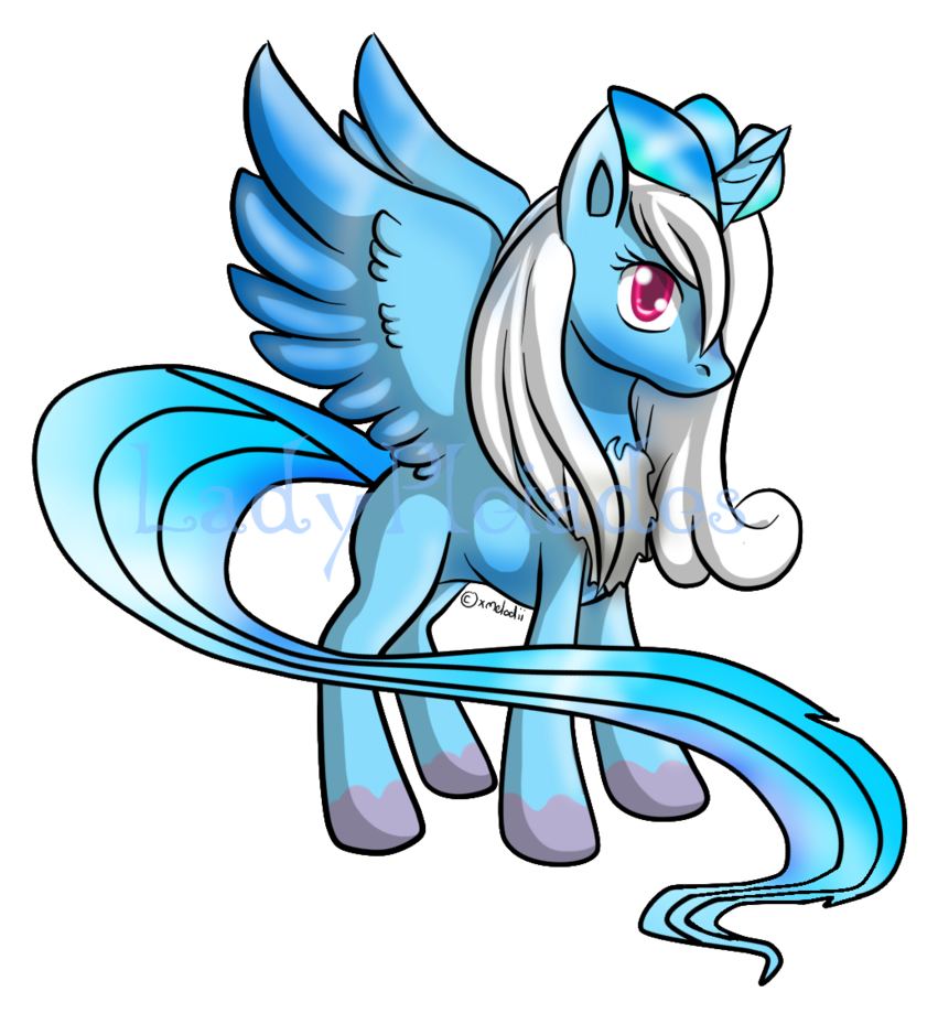 banner royalty free library Articuno Pony Auction by ZenKitsune on DeviantArt