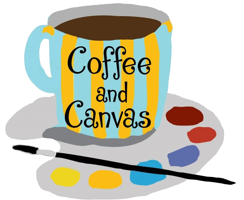 graphic freeuse library Artist clipart art studio. Coffee and canvas classes.