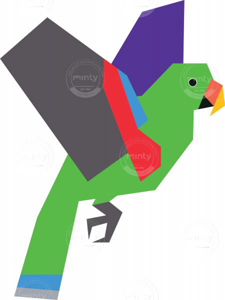 svg free download Vector artist workspace. Male eclectus parrot artwork