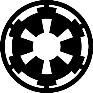svg library library Rebel alliance galactic empire. Vector emblem star wars
