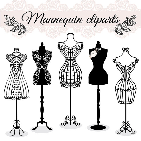 image free download Vector clothing mannequin. Premium hand draw fashion