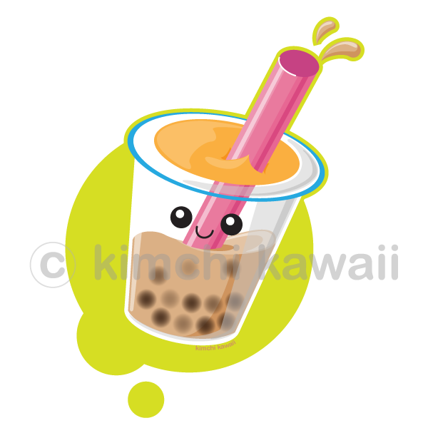 graphic royalty free download Pearl Milk Tea by kimchikawaii on DeviantArt