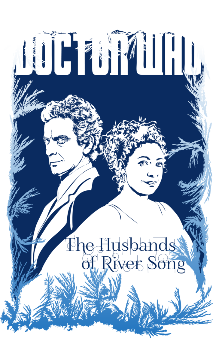svg black and white stock The Husbands of River Song by Mad