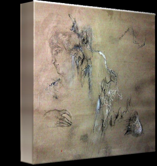 stock Drawing prints wall art. Install by goro endow