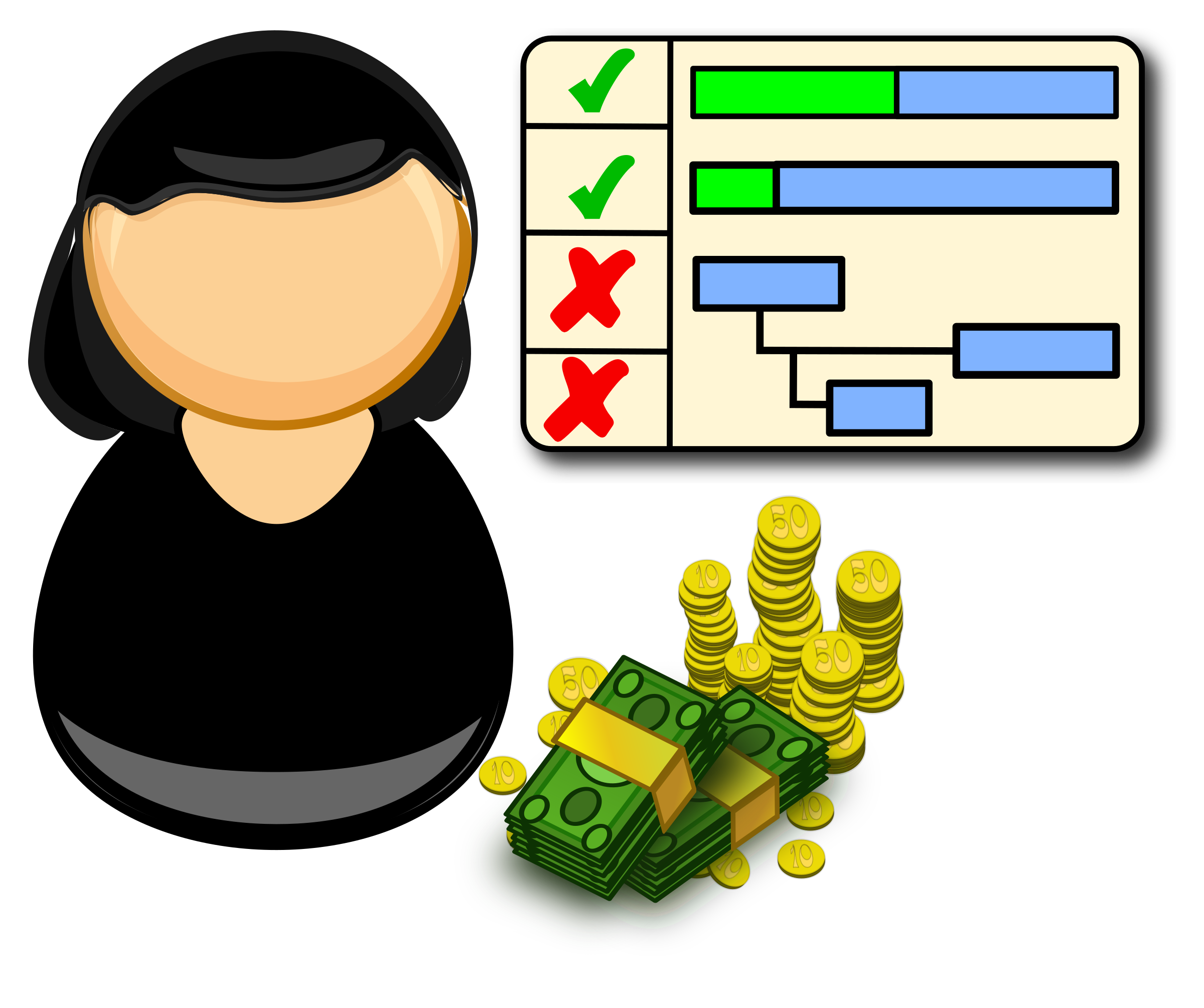 vector transparent library Project manager Icons PNG