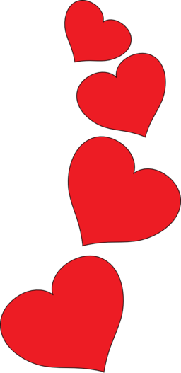 vector transparent Art red heart free. Hearts clip.
