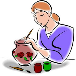 jpg free library Free ceramics cliparts download. Arts clipart pottery painting.