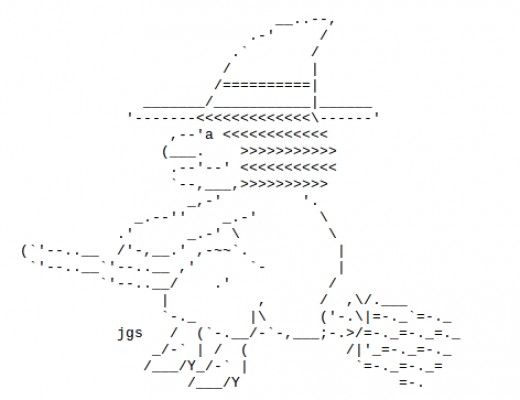graphic transparent library Happy Halloween ascii art for facebook