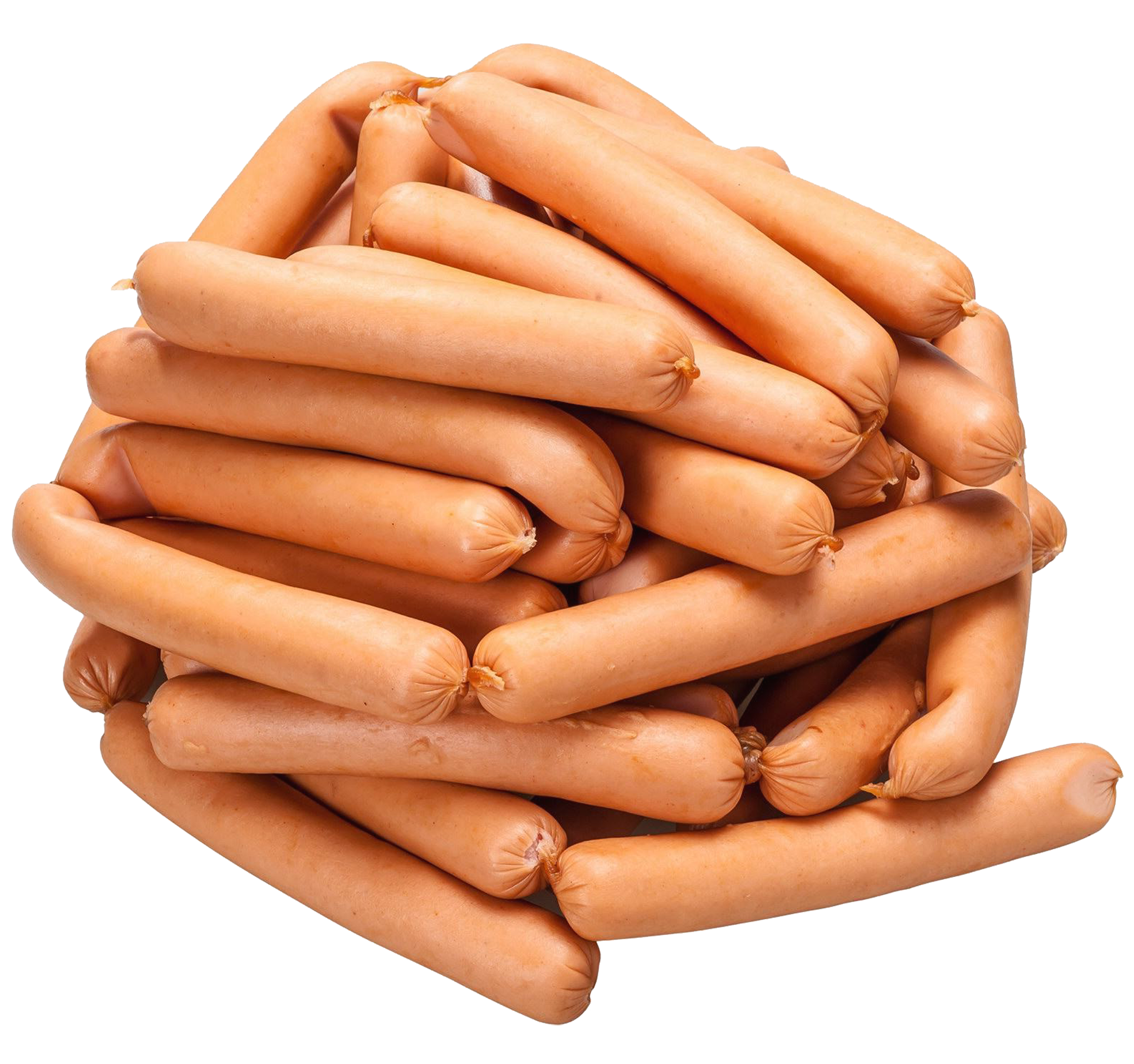 jpg free Pile of frankfurters png. Meat clipart bologna.