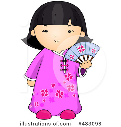 graphic library stock Asian clipart. Illustration by bnp design.
