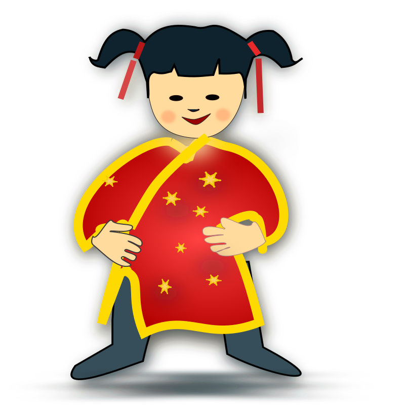 vector free Asian clipart. Chinese theme free on.