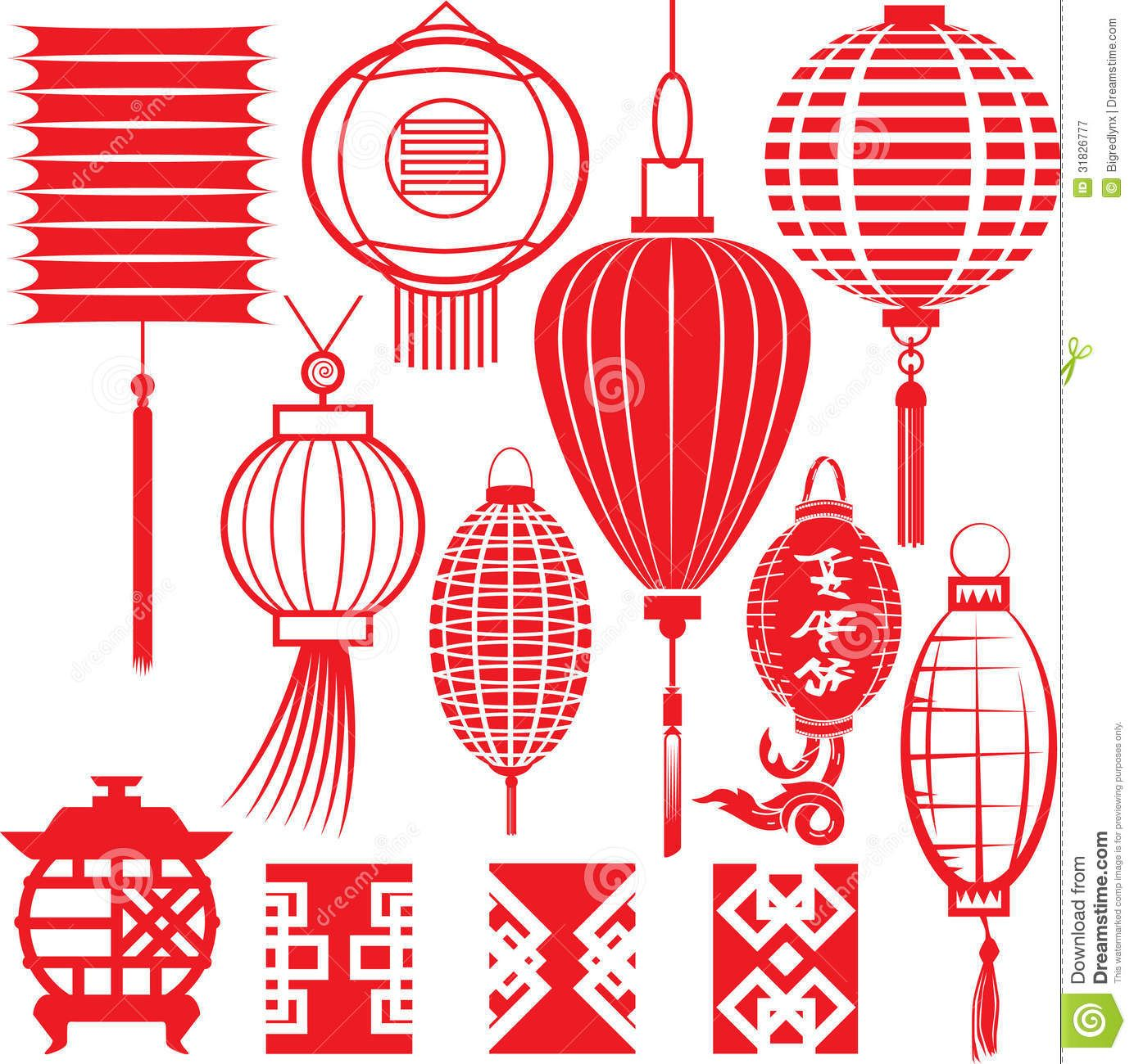 stock Asian clipart lamp chinese. Illustration about clip art.